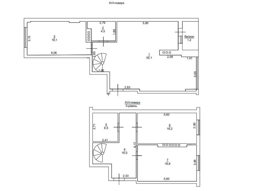 3-комнатная квартира, 135.00 м2, 115000 у.е.
