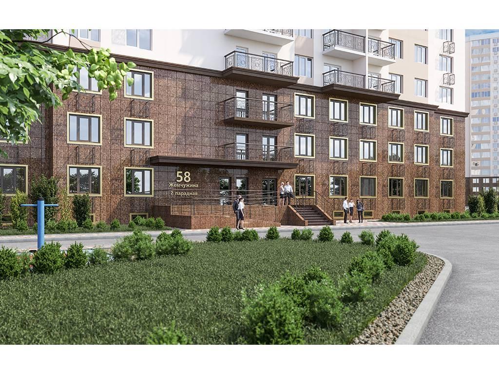 1-комнатная квартира, 44.67 м2, 35512 у.е.
