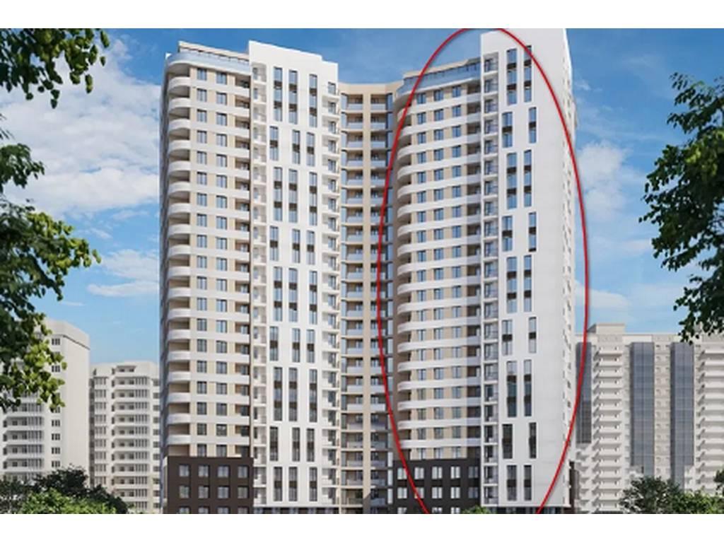 1-комнатная квартира, 40.90 м2, 38100 у.е.