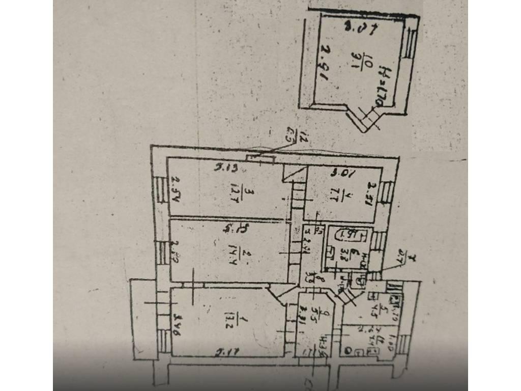 4-комнатная квартира, 86.00 м2, 80000 у.е.