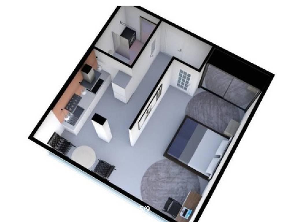 1-комнатная квартира, 38.50 м2, 37000 у.е.