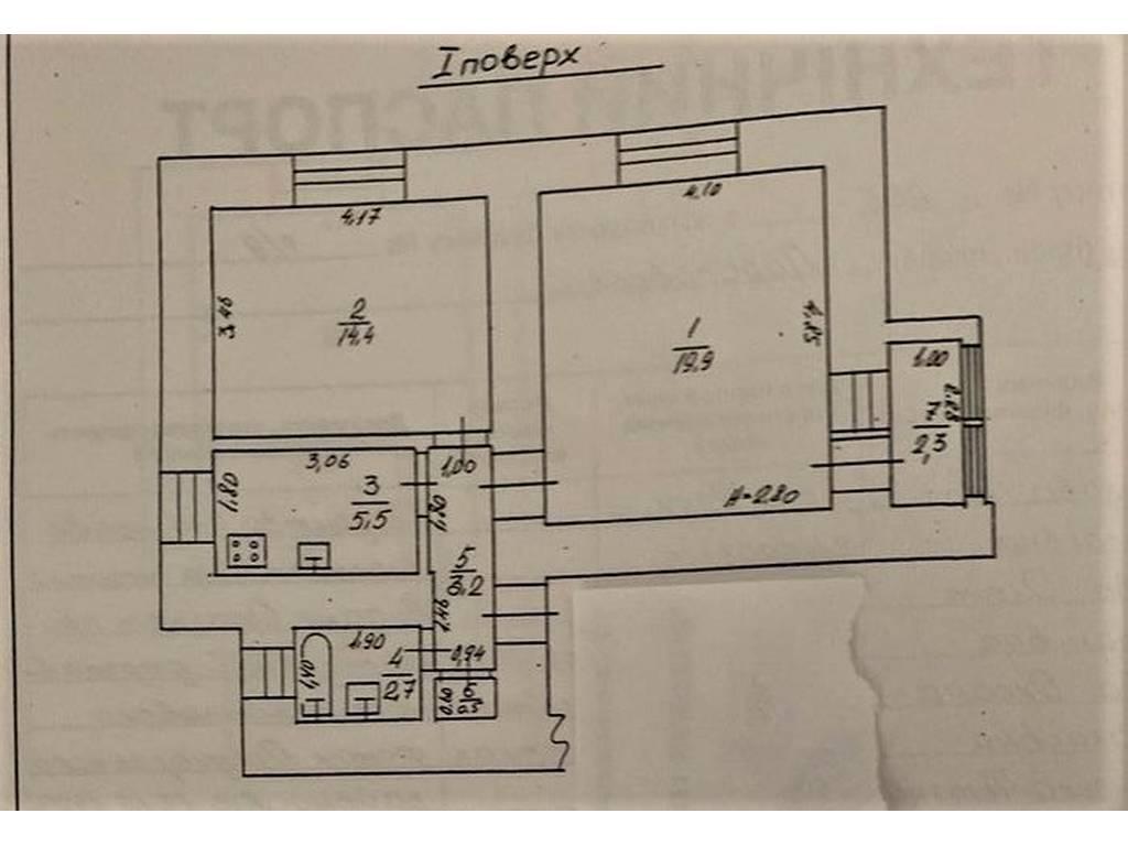 2-комнатная квартира, 56.00 м2, 70000 у.е.
