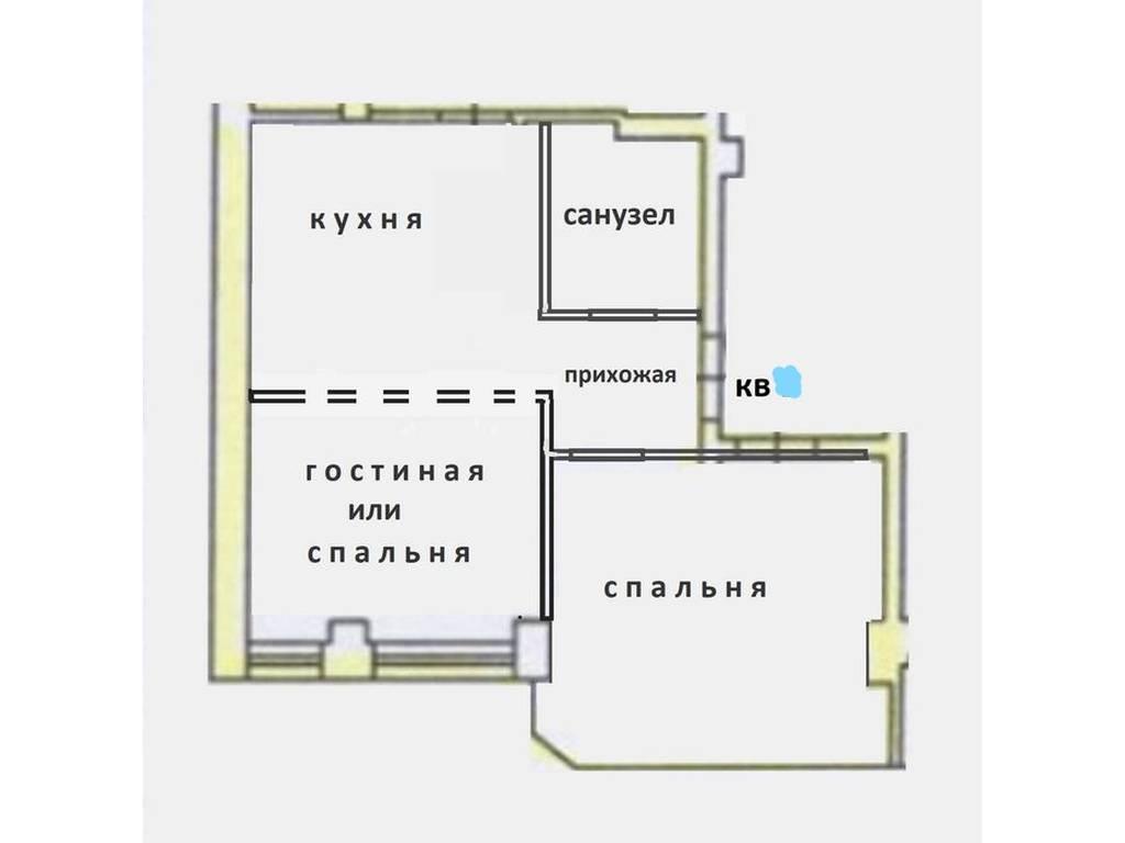 1-комнатная квартира, 35.00 м2, 44000 у.е.