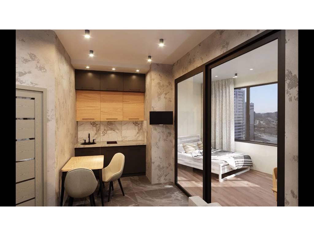 1-комнатная квартира, 36.40 м2, 35500 у.е.