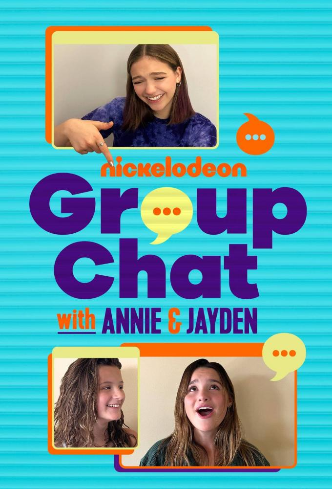 Group Chat with Annie and Jayden Poster