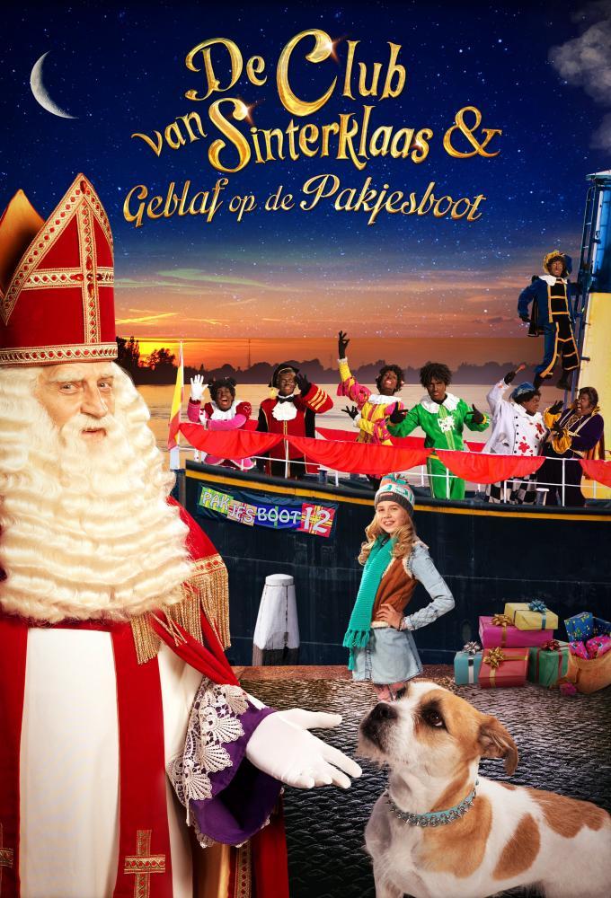 De Club van Sinterklaas & Geblaf op de Pakjesboot Poster