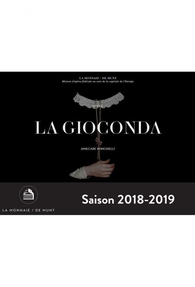 La Gioconda - Opera Bruxelles Poster