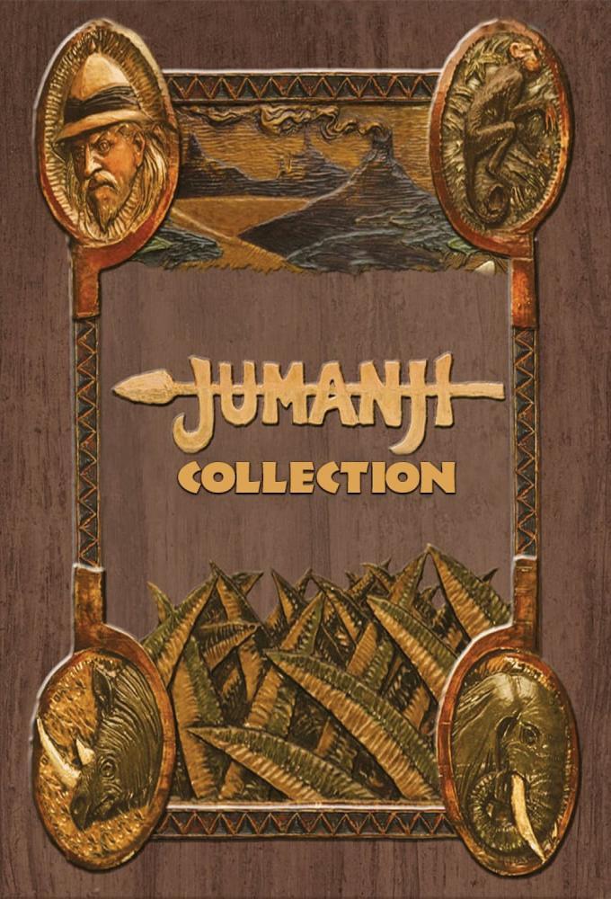Jumanji Filmreihe Poster