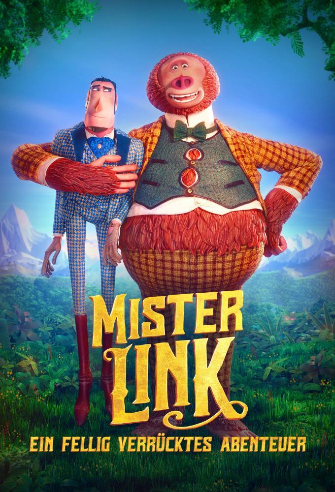 Mister Link - Ein fellig verrücktes Abenteuer Poster