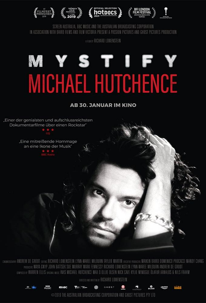 Mystify – Michael Hutchence Poster