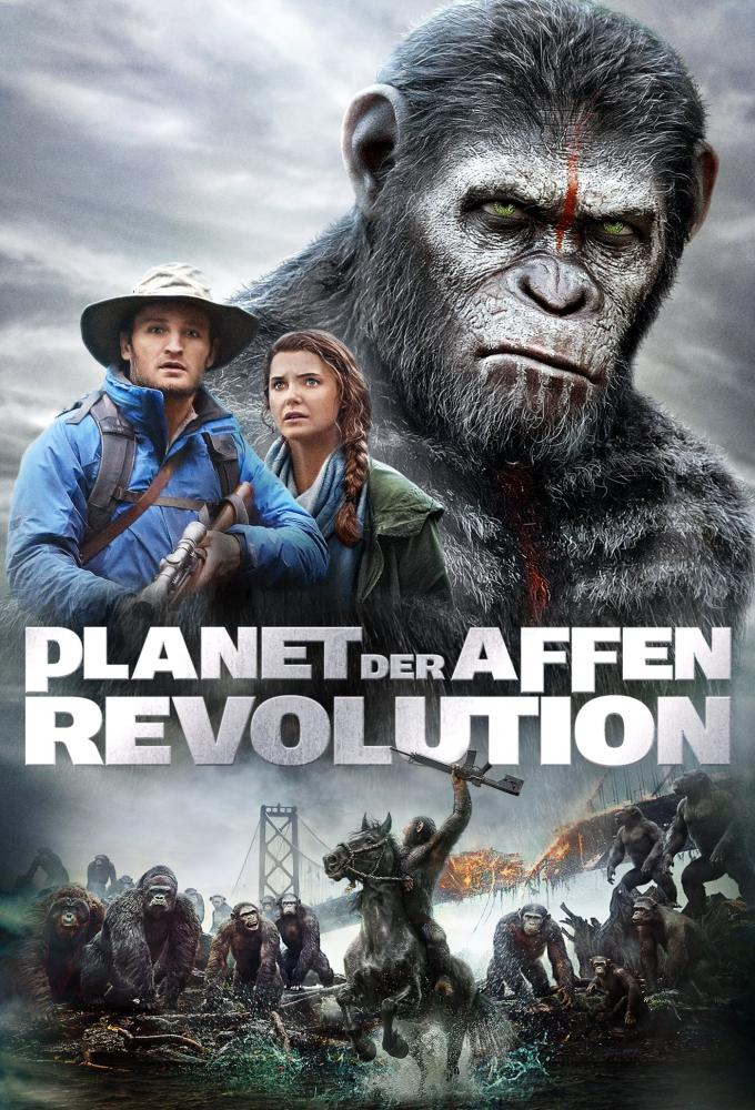 Planet der Affen - Revolution Poster