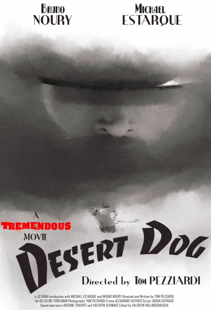 Desert Dog Poster