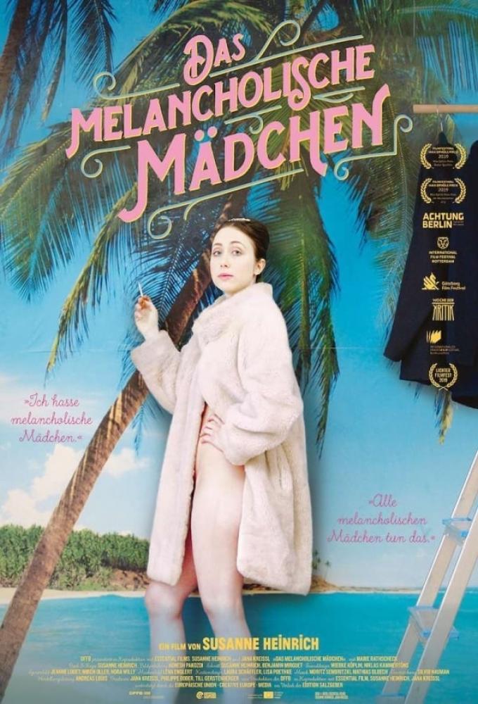 Das melancholische Mädchen Poster