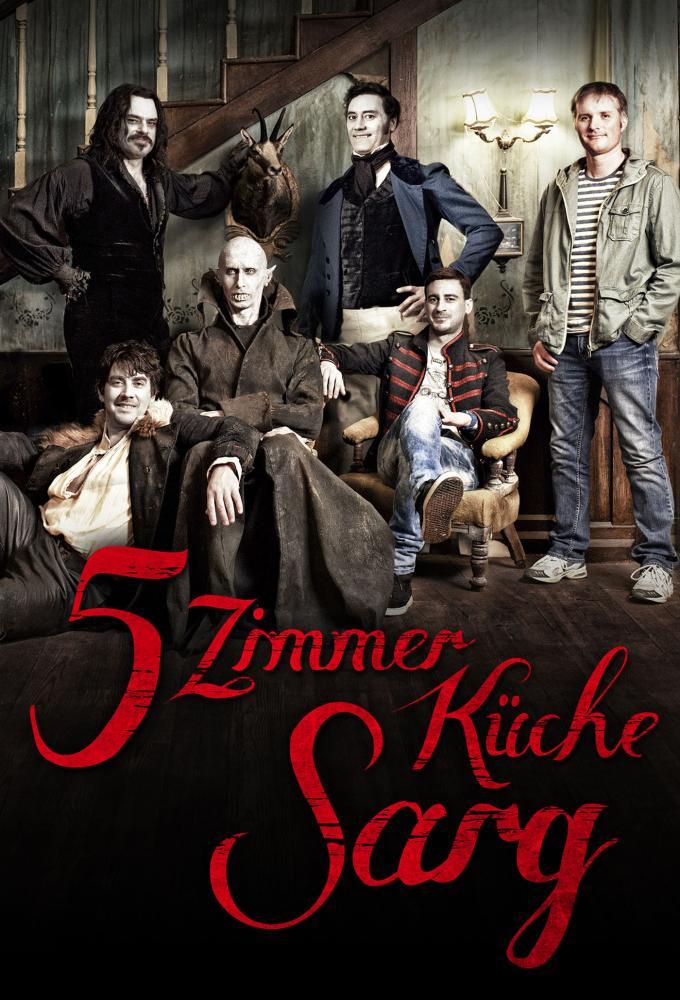 5 Zimmer Küche Sarg Poster