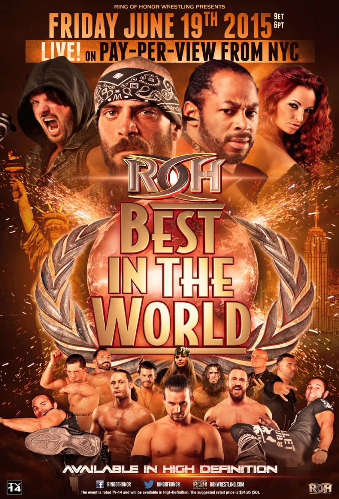 ROH Best in the World 2015 Poster