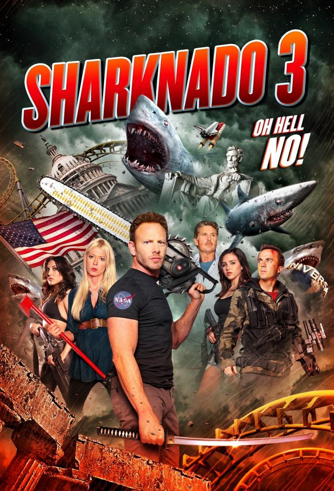 Sharknado 3 Poster