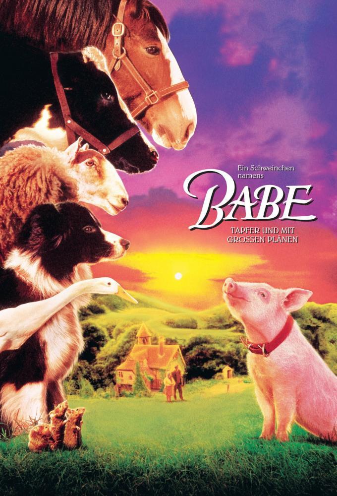 Ein Schweinchen namens Babe Poster