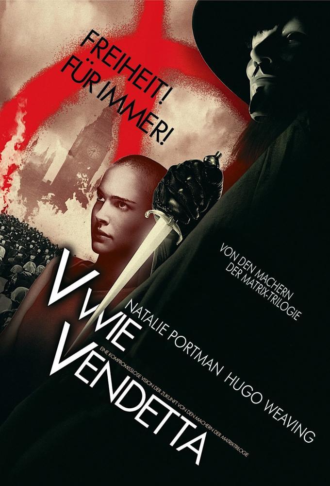 V wie Vendetta Poster