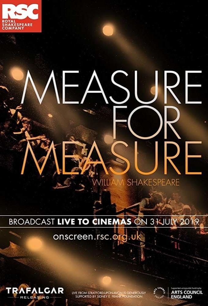 RSC Live: Measure for Measure Poster