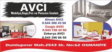 Avcı Mobilya Kapı PVC