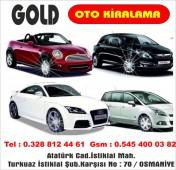 Gold Oto Kiralama