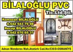 Bilaloğlu PVC