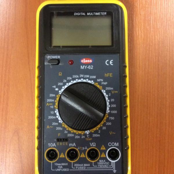 DIGITAL MULTIMETER MY-62