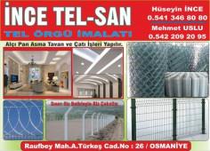 İnce Tel-San Tel Örgü