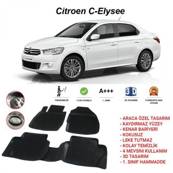 CITROEN C-ELYSEE 3D PASPAS