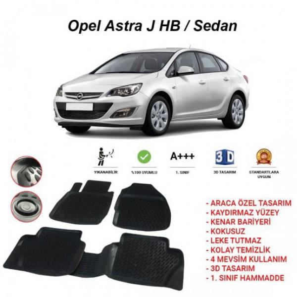 OPEL ASTRA J HB - SEDAN 3D PASPAS