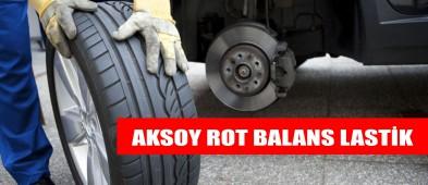Aksoy Rot Balans Lastik