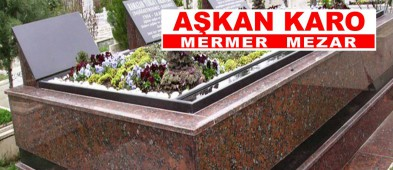 Aşkan Karo Mermer Mezar