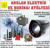 Arslan Elektrik Bobinaj
