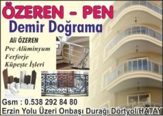 Özeren-Pen Demir Doğrama