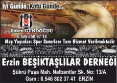 Erzin Beşiktaşlılar Derneği