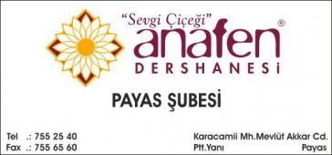 Anafen Dershanesi
