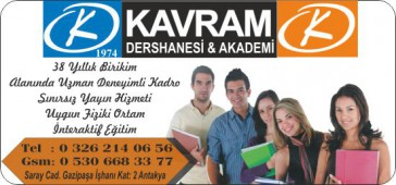 Kavram Dershanesi