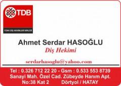Dr. Ahmer Serdar HASOĞLU
