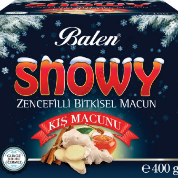 Balen Snowy Zencefilli Bitkisel Macun