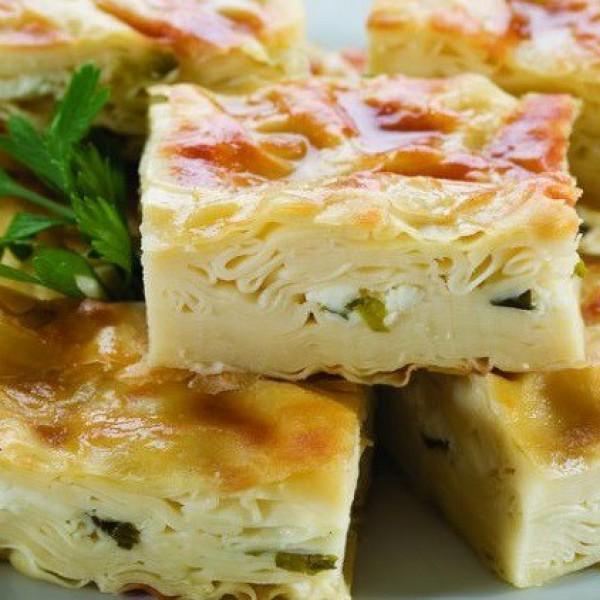 Su Böreği  Peynirli
