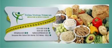 Tuğba Yüzüak Türkcan Beslenme & Diyet Uzmanı