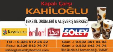 Kahiloğlu Tekstil Ürünleri  & Alışveriş Merkezi