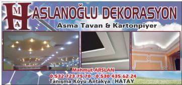 Aslanoğlu Dekorasyon