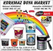 Korkmaz Boya Market