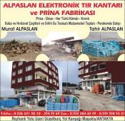 Alpaslan Elektronik Tır Kantarı ve Prina Fabrikası