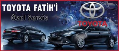Toyota Özel Servis