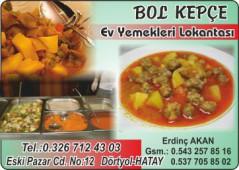 Bol Kepçe Ev Yemekleri Lokantası
