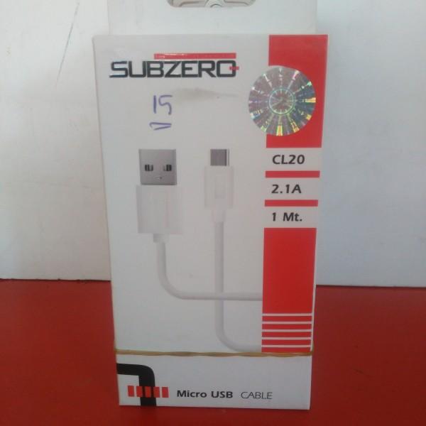 SUBZERO MİCRO USB KABLO