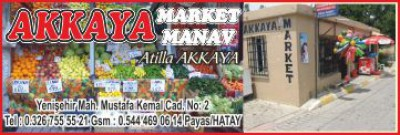 Akkaya Market-Manav