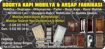 Doorya Kapı Mobilya & Ahşap Fabrikası